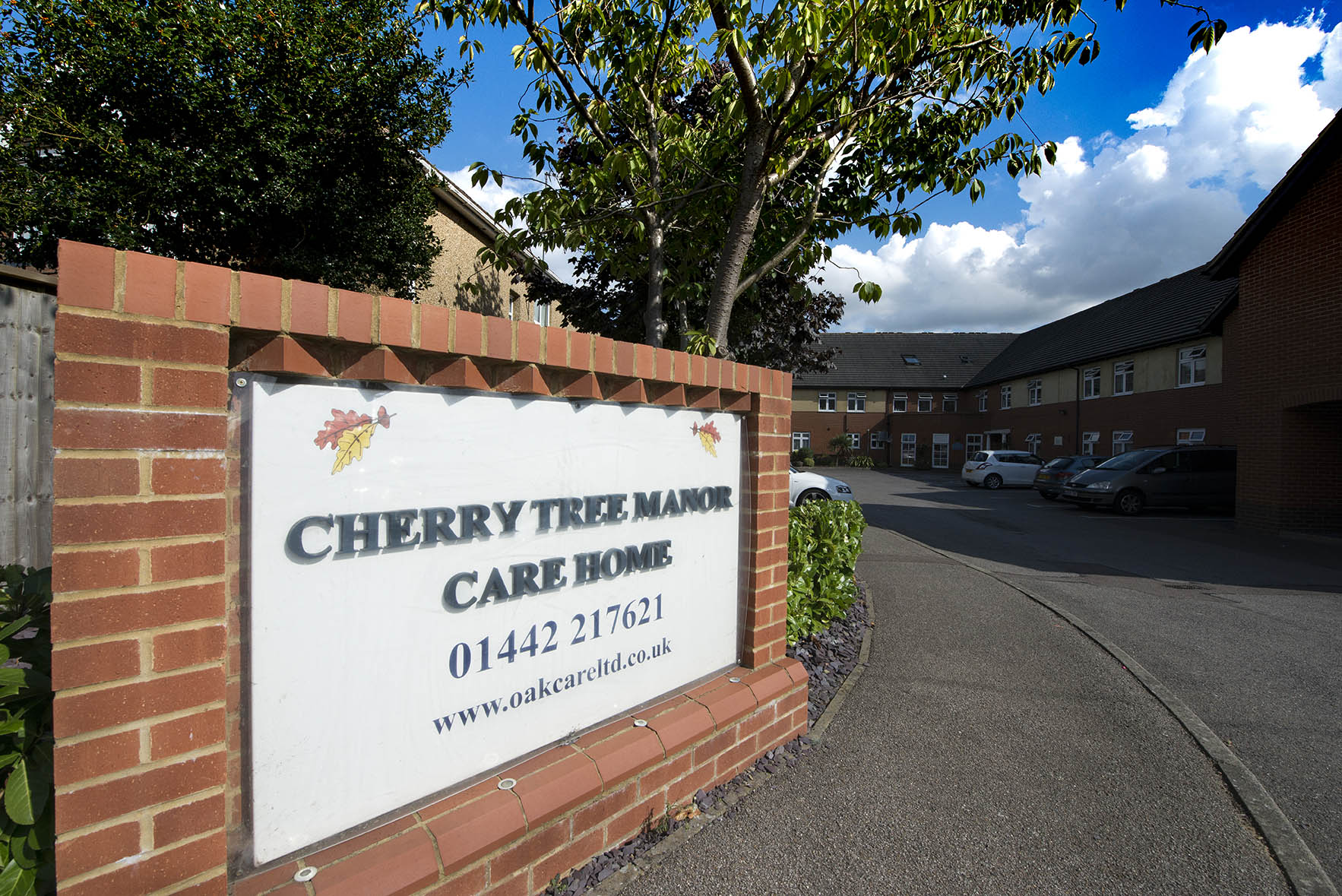 cherry tre emanor care home out side